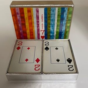 Vintage Congress Playing Cards 2 Sets